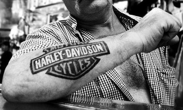 Harley Davidson tatuaje